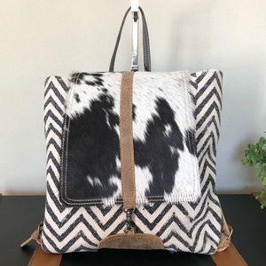 Handbags - Myra bag backpack Frost upcycled NWT